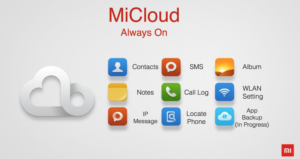 Mi cloud на Xiaomi